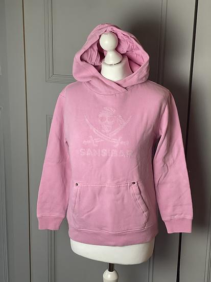 Sansibar Sylt pink hoodie. Small rrp €129