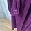 Thumbnail: Vintage Marion Donaldson plum velvet dress. 10/12