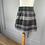 Thumbnail: Girls AMAIA wool checked skirt. 8yrs (rrp£48)