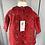Thumbnail: Petit Bateau red/gold dress 12mths