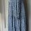 Thumbnail: Zara blue maxi floaty dress UK M