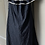 Thumbnail: Monsoon navy cotton broderie dress Uk 12