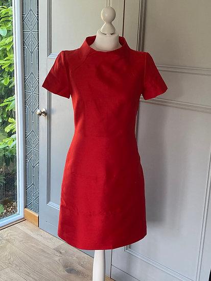 Bruce Oldfield red dress (UK10)