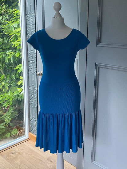 Turquoise ISSA body con dress (small UK 8-10)