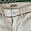 Thumbnail: MOTHER white jeans with embroidery. UK8/10