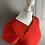 Thumbnail: Red stretch dress LK Bennett UK10 /12