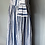 Thumbnail: Vintage cotton blue maxi dress Uk12/14