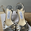 Thumbnail: Jimmy Choo solver leather sandals size 36 rrp£595