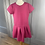 Thumbnail: Mayoral scuba fabric pink dress with studs. 10yrs