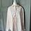 Thumbnail: Monsoon pink linen blouse UK 12