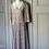 Thumbnail: Vintage 80s multi coloured paisley dress UK 12