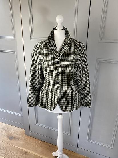 Vintage fitted tweed wool jacket 8/10