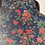 Thumbnail: Vintage Laura Ashley navy/red floral silky shirt UK8/12