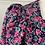 Thumbnail: Vintage Laura Ashley navy/pink needlecord dress UK10/14