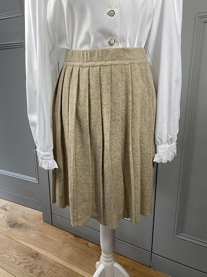 Vintage wool pleated skirt Uk8-12