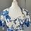 Thumbnail: Susan Gillis-Browne vintage blue rose dress Uk10