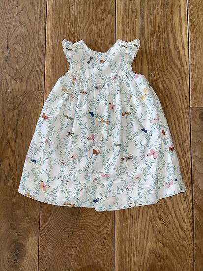 Tartine et chocolat bbh girls summer dress age 1 rrp £150
