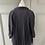Thumbnail: COS navy pleated chiffon blouse. UK 10/12