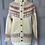 Thumbnail: Vintage 70s fair isle cardigan UK 6-10