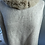 Thumbnail: N Pearl cashmere cape with rabbit fur