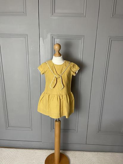 Girls La Coqueta Yellow dress age 3 rrp£69