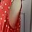Thumbnail: BNWT Hobbs red/white polka dor sleveeless blouse. UK 10