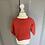 Thumbnail: La Coqueta red cardigan 18 months