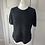 Thumbnail: Jaeger black sparkle knit L