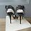 Thumbnail: Jimmy Choo black glitter platform sandals size 35.5