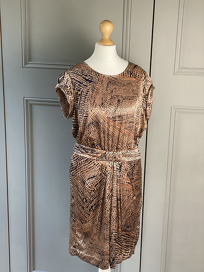 TWENTY 8 TWELVE BY S.MILLER Silk dress UK10