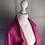 Thumbnail: Tara Jarmon heavy cotton blend pink coat UK8-12