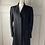 Thumbnail: Whistle wool/cashmere mix black coat. Uk14