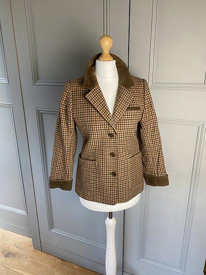 Vintage Yves Saint Laurent tweed jacket UK6-10