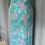 Thumbnail: Vintage linen maxi dress UK 6-10