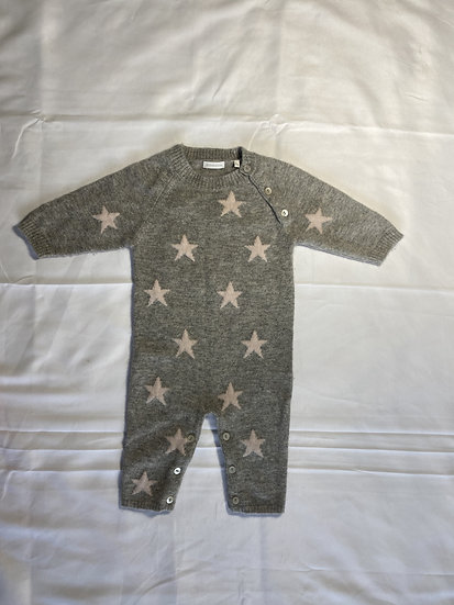 Cashmere baby grow 6mths by Delicatelove.