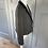 Thumbnail: Navy/beige vintage houndstooth cropped jacket uk10