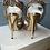 Thumbnail: Jimmy Choo rainbow  glitter sandals size 35.5 rrp£595