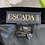 "Thumbnail: Vintage Escada black velvet skirt with fun beading. Uk8/10 Waist 26"""