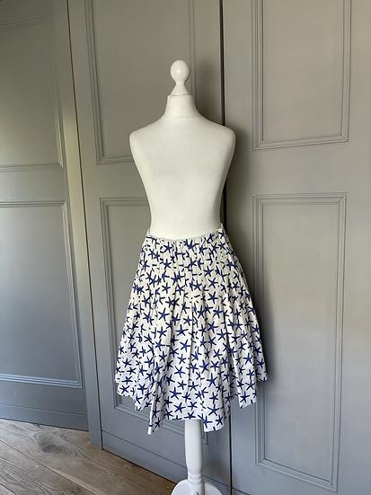 Kate Spade NY cotton starfish skirt UK 10 rrp £195