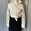 Thumbnail: Mint Velvet grey wool mini skirt. Uk16 rrp£79