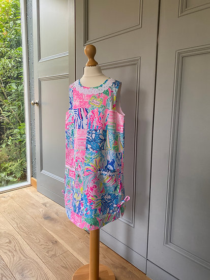 Lilly Pulitzer neon shift dress 10yrs Brand New