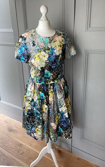 BNWT MSGM multi coloured dress. UK 10/12