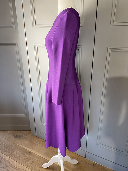 Issa purple stretch dress. 8-12