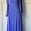 Thumbnail: 80s Purple chiffon maxi dress with bell sleeves. Uk8/10