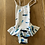 Thumbnail: Girls Vilebequin white and blue swimsuit 4ans (2/3yrs)