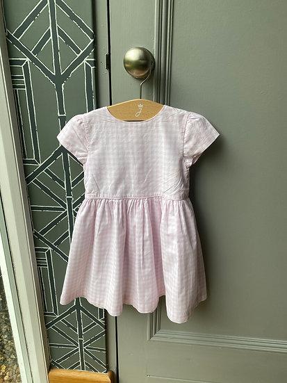 Ralph Lauren pink gingham dress (18 months)