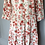 Thumbnail: Zara cotton floral maxi dress Uk M