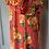 Thumbnail: Monsoon orange maxi sun dress UK M