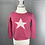 Thumbnail: 100% cashmere BABY GIRLS jumper with star 12mths