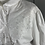 Thumbnail: Vintage white cotton border anglaise blouse with pearl buttons UK12-16